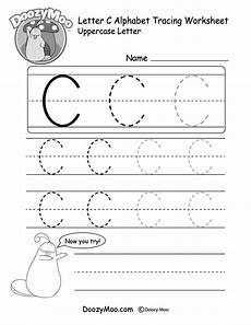 letter tracing worksheets c 23315 uppercase letter c tracing worksheet doozy moo
