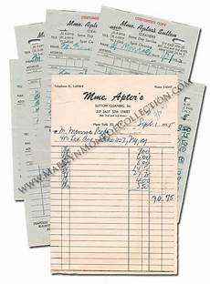 marilyn s personal dry cleaning receipts