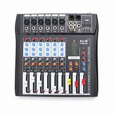 Ct 60s 6 Channel Professional Live Studio Audio Mixer With