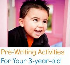 5 pre writing activities for your 3 year old