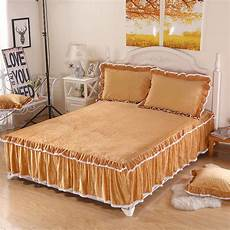home textiles bedding 3pcs crystal velvet bed pillowcaseed type bed sheet