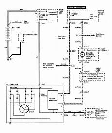 Acura Integra 1990 Wiring Diagrams Charging System
