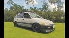 Honda Civic Kombi - 1991 honda civic wagon car wash n cruise