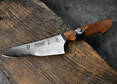 Handmade Kitchen Knives Uk Handmade Kitchen Knife With Oak Handle Made By Will
