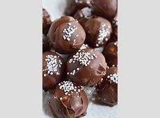 chocolate truffle filling image