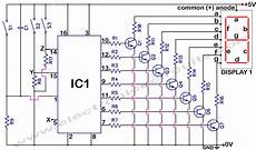 4033 7 Segment Common Anode Display Counter Electronic
