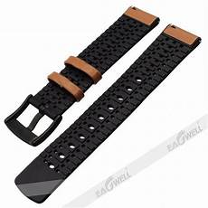 Color Genuine Leather Silicone by 20mm Genuine Leather Silicon Wrist Band For Samsung