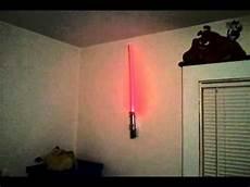 lightsaber wall light that i got for my birthday youtube