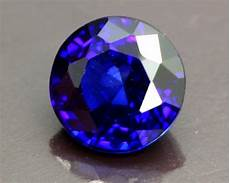 1 05ct natural royal blue sapphire round cut