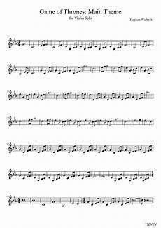 game of thrones violin search violin sheet