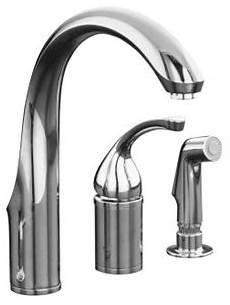 fix kohler kitchen faucet kohler forte faucet troubleshooting repair guide