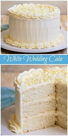 Wedding White Cake Recipe