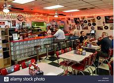 American Diner Einrichtung - springfield illinois historic route 66 s