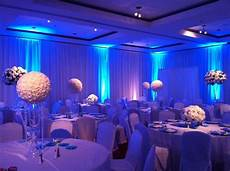 silver tables blue lighting wedding reception search wedding reception lighting