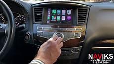 infiniti apple carplay 2014 2016 infiniti qx60 wired wireless apple carplay
