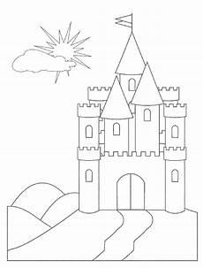 Malvorlagen Burgen Ausmalbilder Ausmalbilder Burgen Zum Ausdrucken