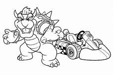 mario kart to print for free mario kart coloring pages