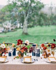 a charmingly bespoke fall wedding in new jersey fall wedding centerpieces fall wedding table