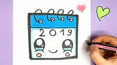 Kawaii Kalender Malen Einfach Und S 220 223
