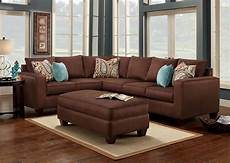 wohnzimmer braunes sofa decorating american freight sectionals sofa for
