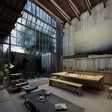 4 homes using concrete as a stylish 969 best images about industrial bohemian on