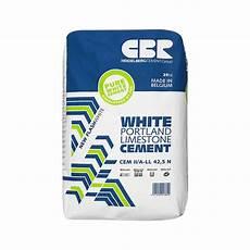 Ciment Blanc Cem Ii 42 5 N A Ll 25kg Portland