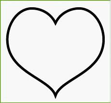 Herz Malvorlagen Zum Ausdrucken Word 17 Unvergesslich Herz Vorlage Zum Ausdrucken Im Jahr 2019