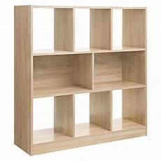 libreria per da letto vasagle libreria di legno con cubi aperti e ripiani
