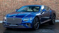 2018 bentley continental gt first edition sequin blue