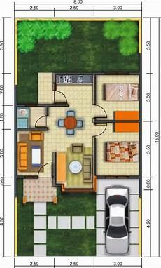Sketsa Rumah Minimalis 1 Lantai Modern House