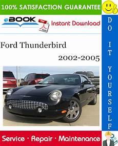 download car manuals pdf free 2005 ford thunderbird head up display ford thunderbird service repair manual 2002 2005 download