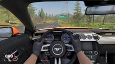 The Crew 2 Ford Mustang Gt Fastback 2015 Cockpit View