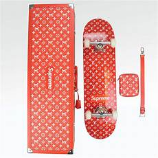 supreme skate shop supreme x louis vuitton skateboard trunk crepslocker
