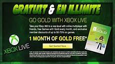 obtenir du xbox live gold gratuit illimit 233 free 1