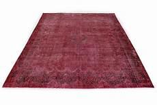 vintage teppich rot in 390x290 1001 167197 bei carpetido