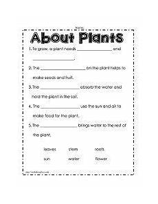 science worksheets about plants for grade 4 13722 image result for 4th grade science plants worksheets plants worksheets plant cycle