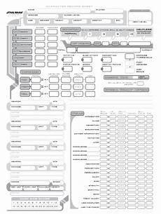 star wars saga edition character sheet fill online
