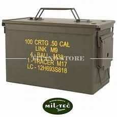 porta munizioni cassetta porta munizioni m2a1 cal 50 miltec attrezzatura