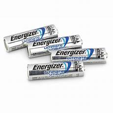 4 pk of energizer 174 aa ultimate lithium batteries 618696