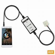 car cd adapter mp3 auxiliary 3 5mm cellphone digital audio