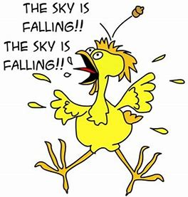 Image result for the sky is falling images