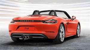 Porsche 718 Cayman & Boxster Officially Launched In