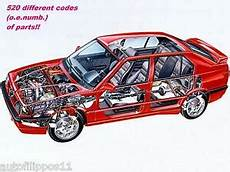Spare Parts Of Alfa Romeo 33 1983 94 The Price Is
