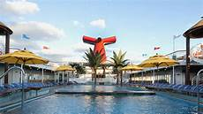 carnival does away with adults only pool seven ships travel weekly