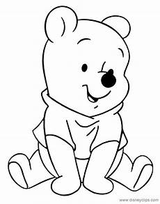 baby pooh coloring pages disneyclips