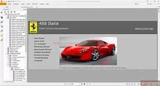free car repair manuals 2011 ferrari 458 italia instrument cluster ferrari 458 italia online technical documentation auto repair manual forum heavy equipment