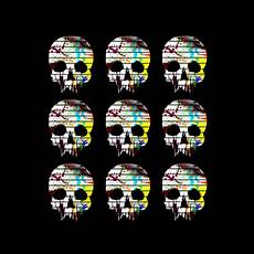 skulls colors neatoshop