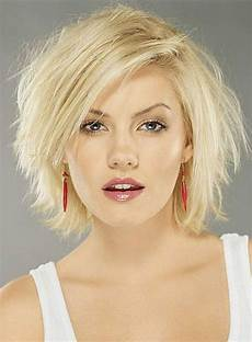 messy hairstyles for round faces messy carefree layered straight blonde 10 inches lace front bob wig 100 human hair wig in