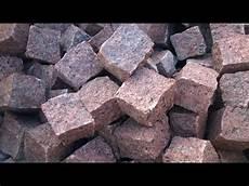 b m granity rote pflastersteine aus vanga skandinavischer