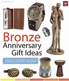 8th Wedding Anniversary Gift Ideas For Him top bronze anniversary gift ideas for bronze